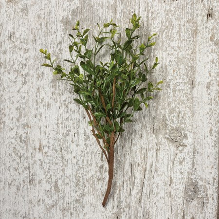"Pick - Boxwood - 13"" Tall - Plastic, Wire"