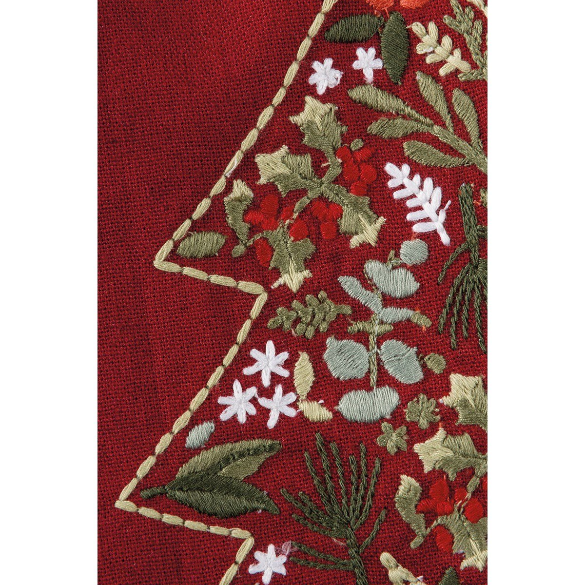 "Dish Towel - Home For The Holidays - 20"" x 26"" - Cotton, Linen"