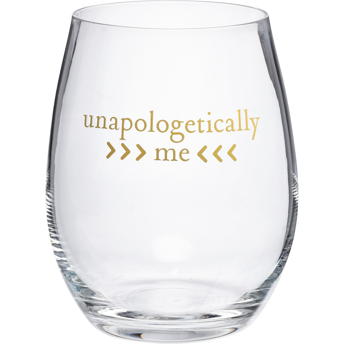 Wine Glass - Unapologetically Me - 15 oz. - Glass