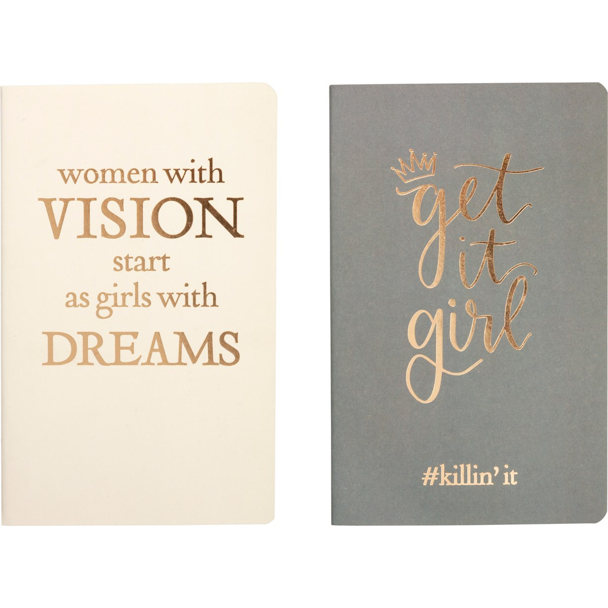 "Notebook Set Lg - Women With Vision - 5"" x 8.25"" x 1"" - Paper"