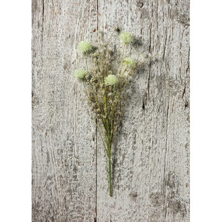"Pick - Thistle Mix White - 20"" Tall - Plastic, Wire"