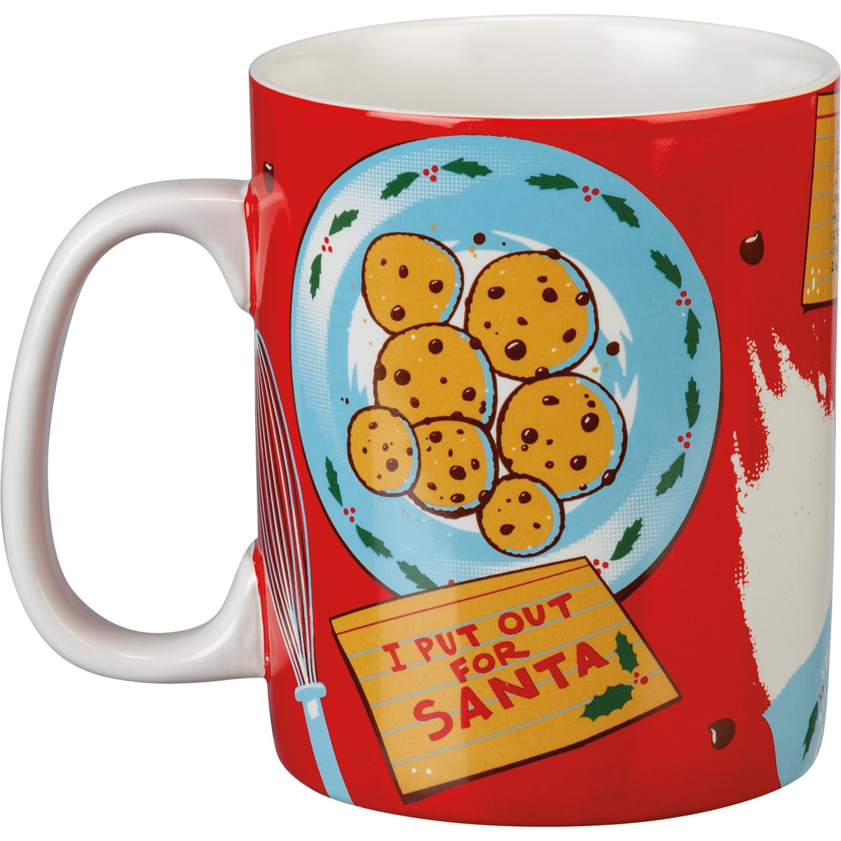 Mug - I Put Out For Santa - 20 oz. - Stoneware