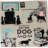 "Dish Towel - Want To Be A Stay-At-Home Dog Mom - 28"" x 28"" - Cotton"