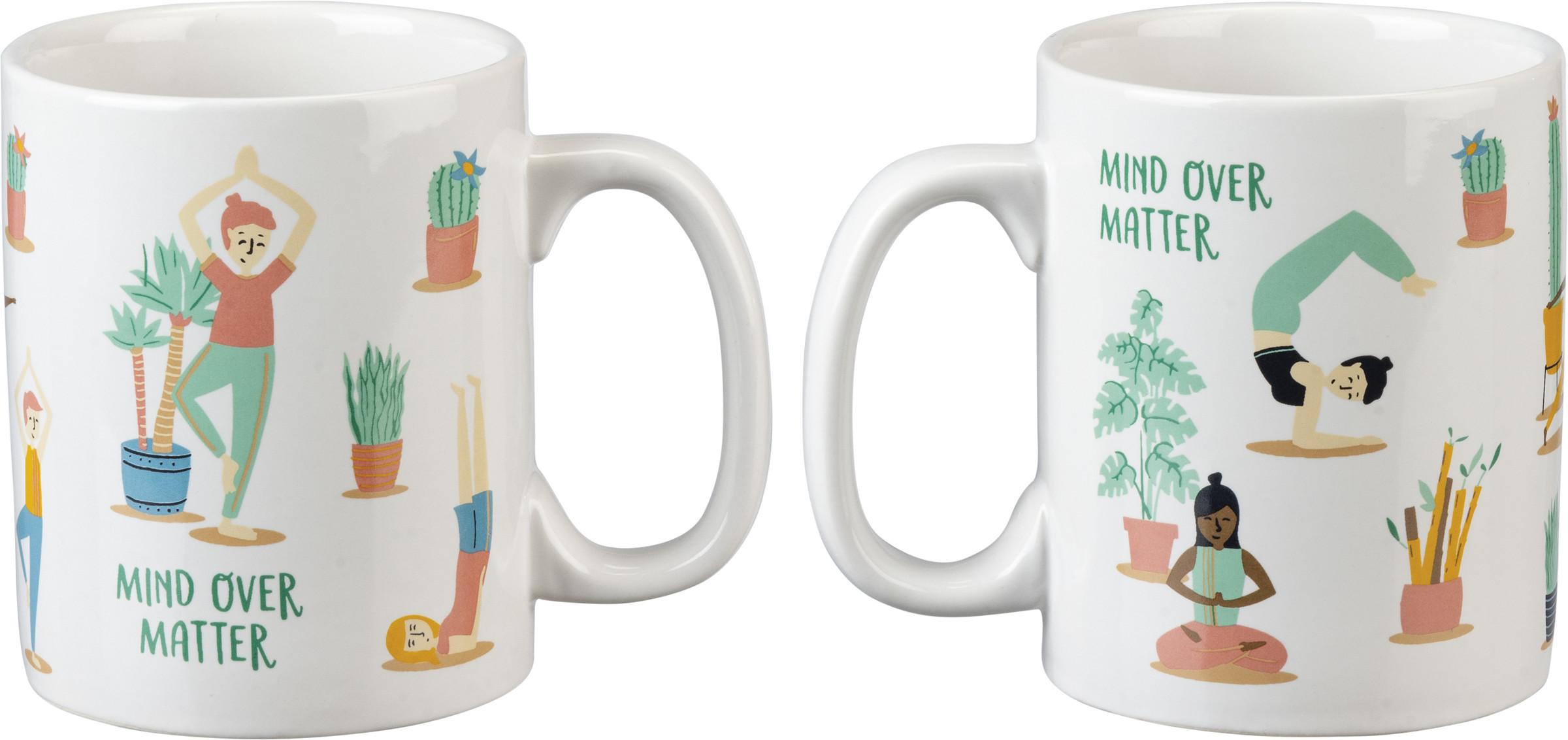 Mug Mind Over Matter Lol Made You Smile Collection Primitives By Kathy