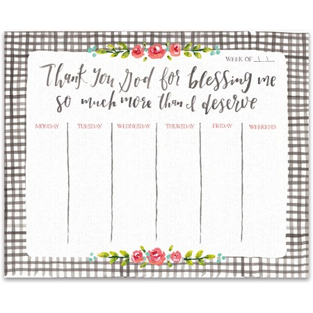 "Notepad - Blessing Me More - 9"" x 7.25"" x 0.25"" - Paper"