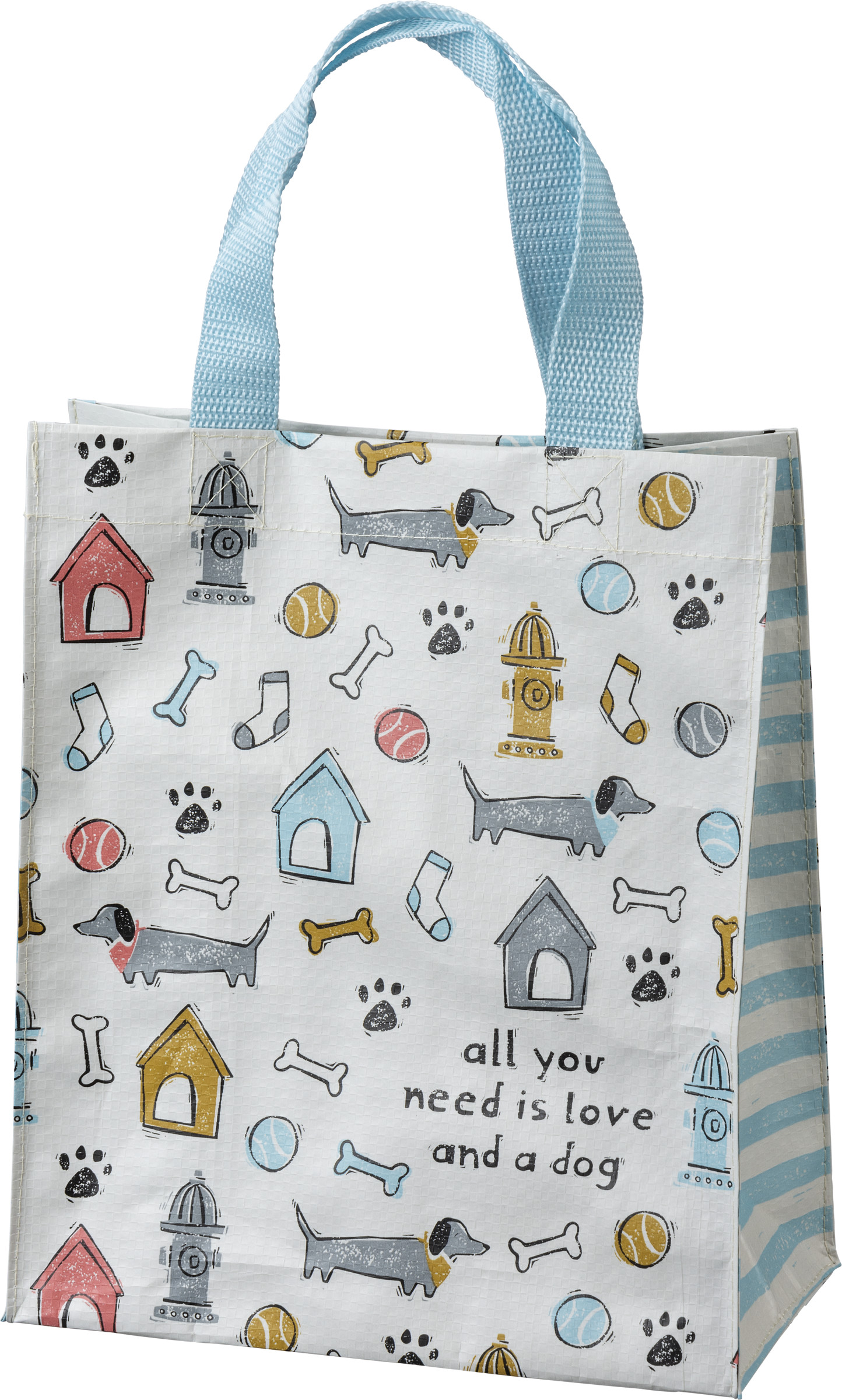 All You Need is Love and a Dog Tote Bag