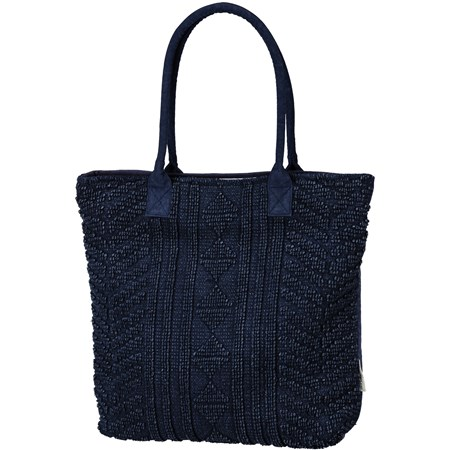 "Tote - Tribal - 19"" x 18"", 10"" Handle Drop - Cotton, Canvas"