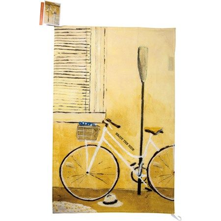 "Dish Towel - The Ride - 18"" x 28"" - Cotton"