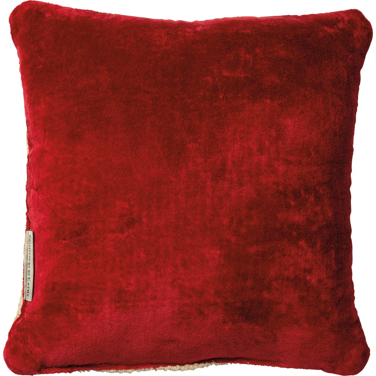 "Pillow - Joy - 10"" x 10"" - Cotton, Velvet"