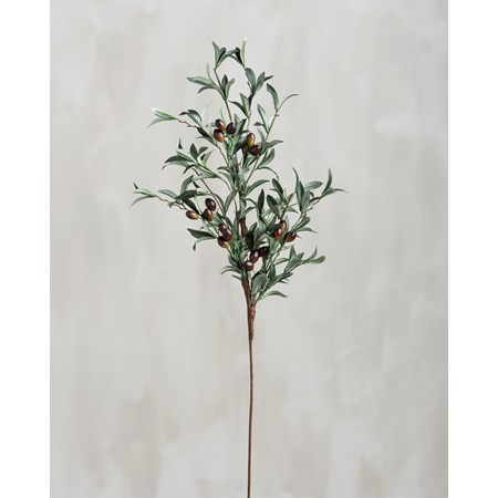 "Pick - Lg Olives - 34"" Tall - Plastic, Fabric, Wire"