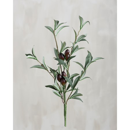 "Pick - Olives - 16"" Tall - Plastic, Fabric, Wire"