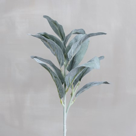 "Pick - Lamb's Ear - 24"" Tall - Plastic, Fabric, Wire"