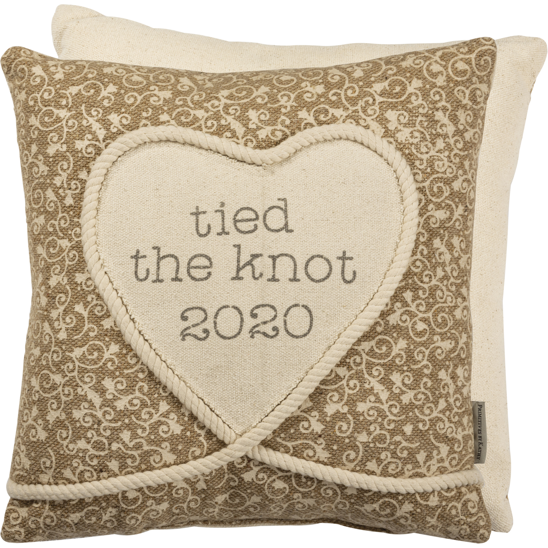 Pillow Tied The Knot 2020 Wedding Collection Primitives By Kathy