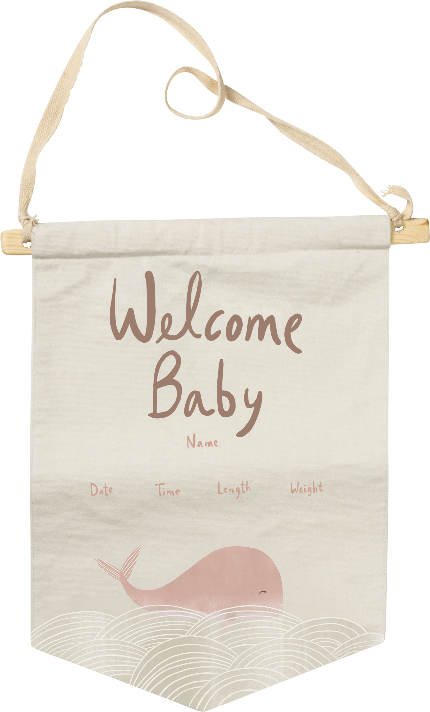Banner Welcome Baby Pink Baby Kids Collection Primitives By Kathy