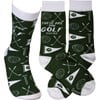 Socks - These Are My Golf Socks - One Size Fits Most - Cotton, Nylon, Spandex