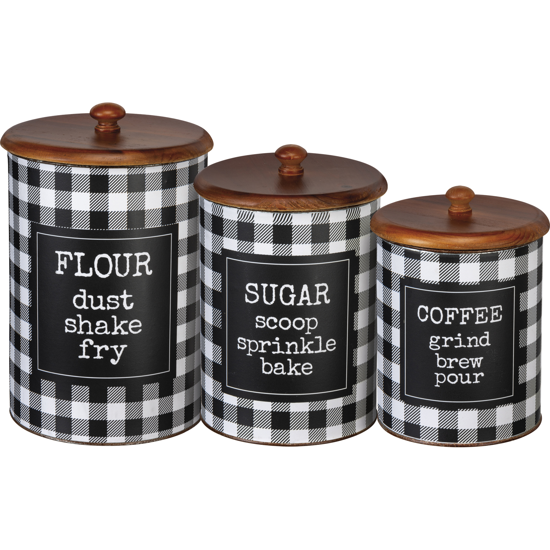 Canister Set Flour Sugar Coffee