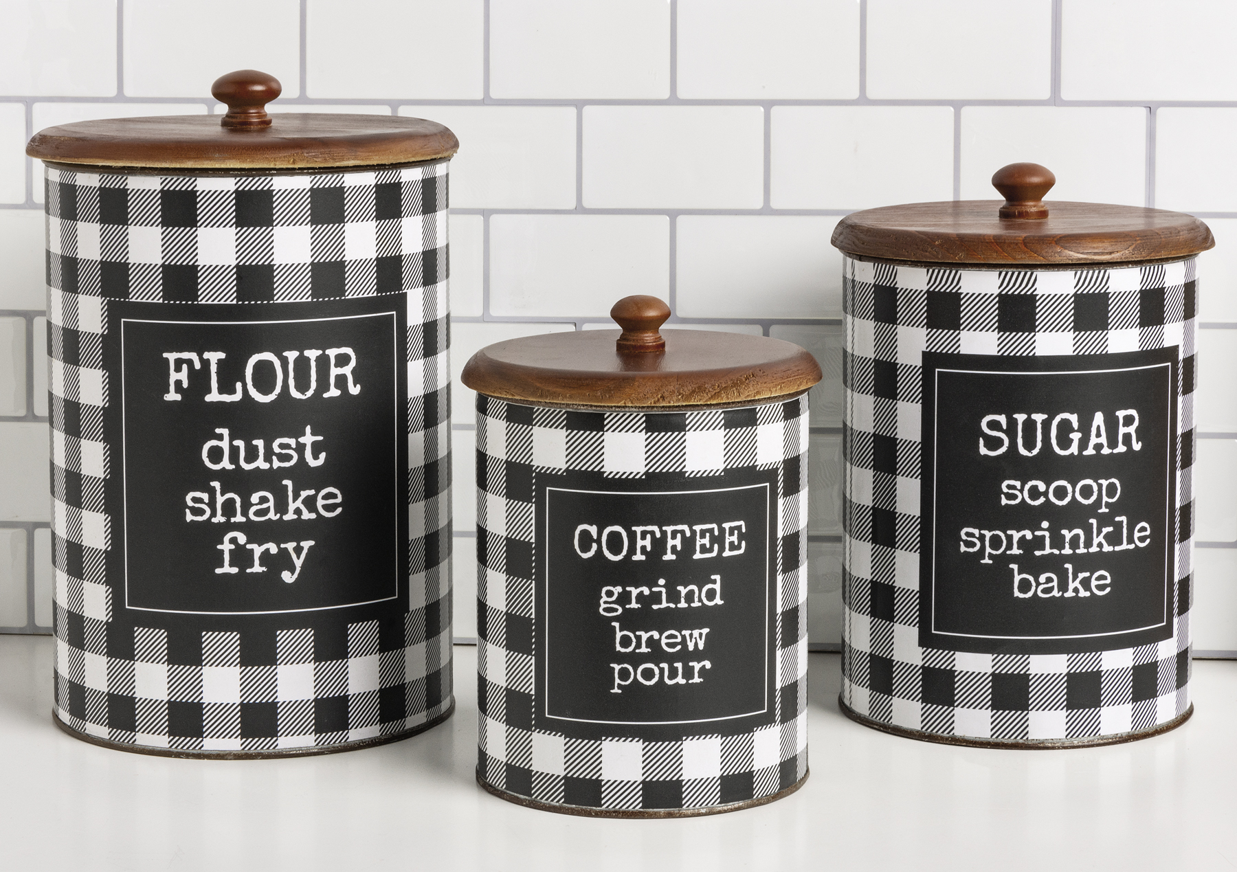 Canister Set Flour Sugar Coffee Room By Room Collection Primitives By Kathy