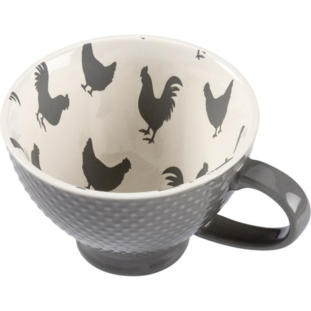 Mug - Chicken - 13 oz. - Stoneware