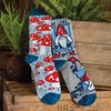 Socks - Gnomes & Mushrooms - One Size Fits Most - Cotton, Nylon, Spandex
