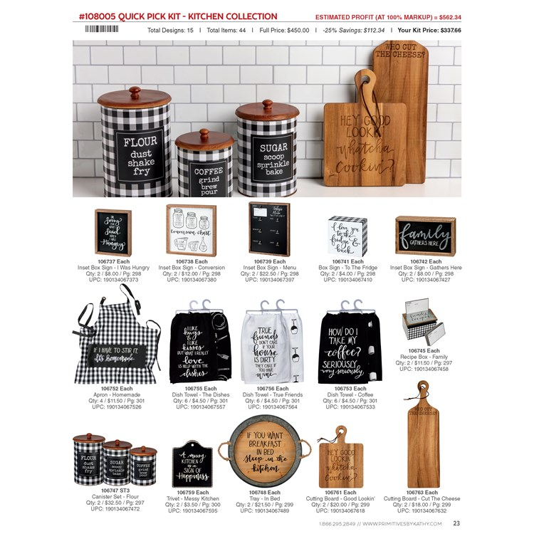 Quick Pick Kit - Kitchen Collection -  -
