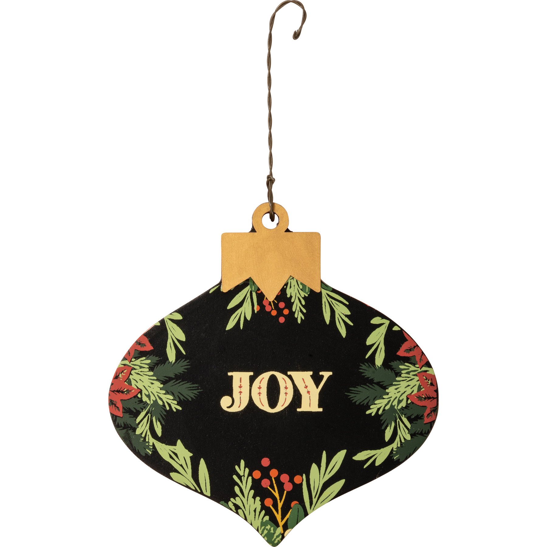 Ornament Set Merry Joy Noel Moody Collection Primitives By Kathy