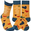 Socks - Be Proud Of Who You Are - One Size Fits Most - Cotton, Nylon, Spandex