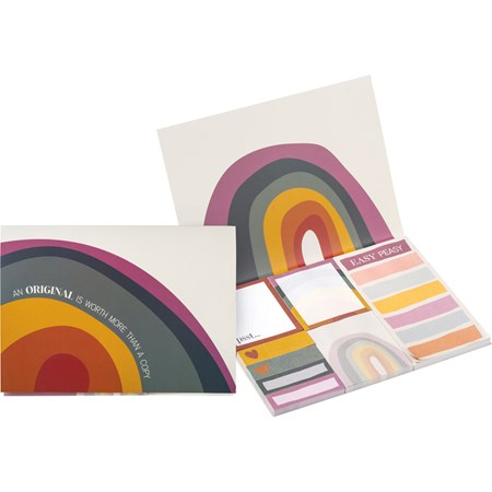 "Sticky Notes - An Original Is Worth More - 7.50"" x 5.75"" x 0.25"" - Paper"