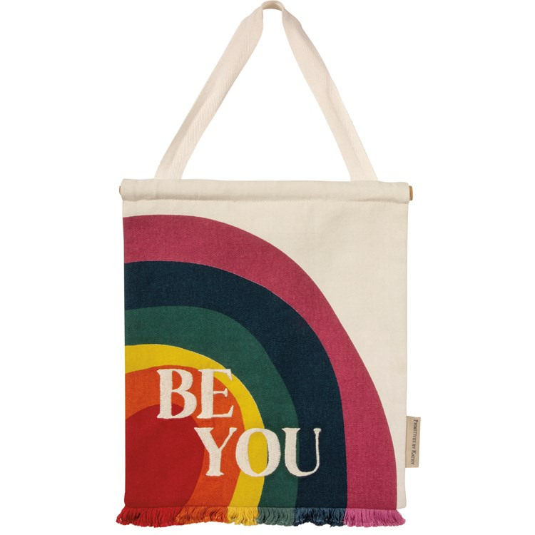 "Wall Decor - Be You - 10"" x 12"" - Cotton, Wood"