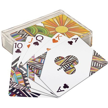 "Playing Cards - Seasons - 2.50"" x 3.50"" x 1"" - Paper, Plastic"