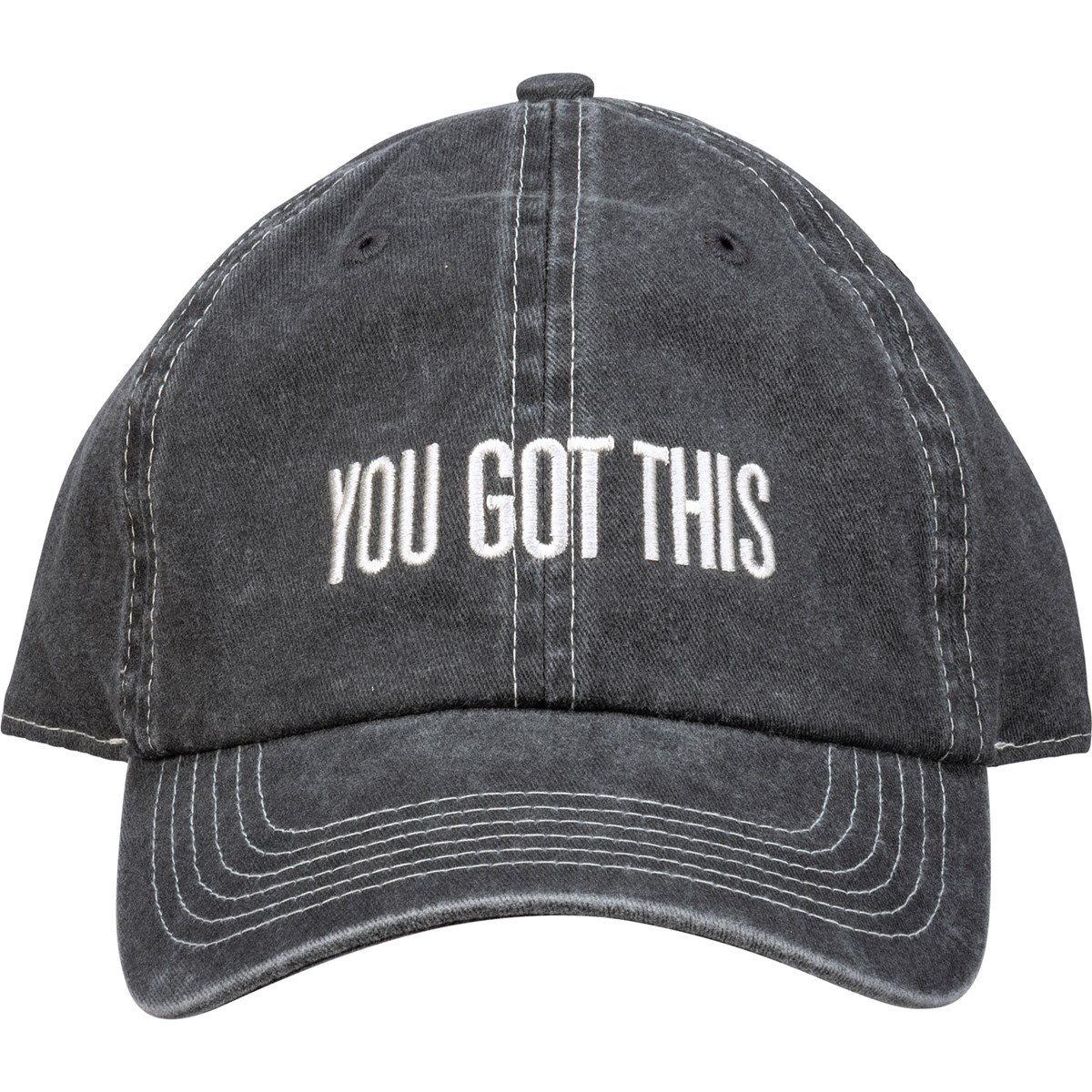 Baseball Cap - You Got This - One Size Fits Most - Cotton, Metal