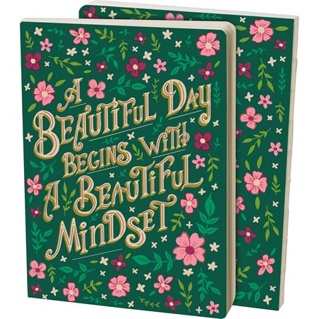 "Journal - A Beautiful Day A Beautiful Mind - 5.25"" x 7.25"" x 0.75"" - Paper"