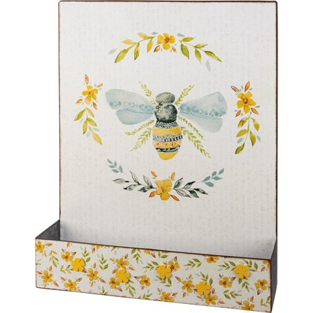 "Magnet Board - Bee - 15.50"" x 20"" x 3.50"", 5 Magnets included - Metal, Paper, Magnet"