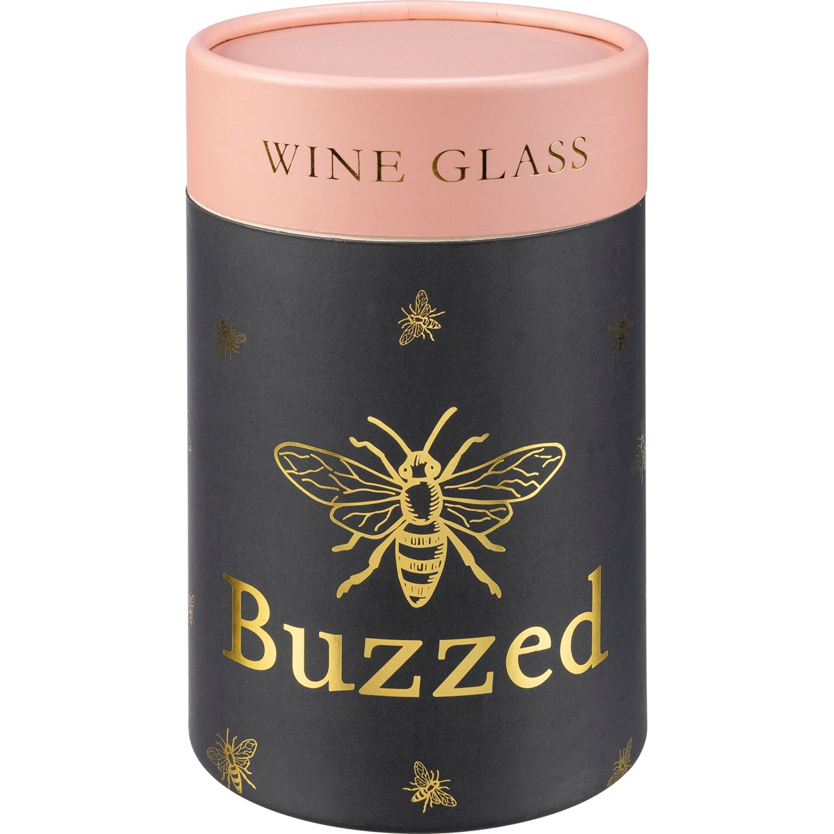 "Wine Glass - Buzzed - 15 oz., Box: 4"" Diameter x 6"" - Glass"