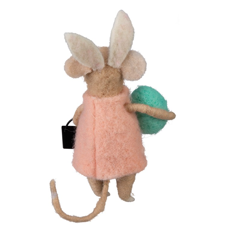 "Critter Set - So Very Blessed Mice - 2.50"" x 5.75"" x 2.50"" - Felt, Metal"