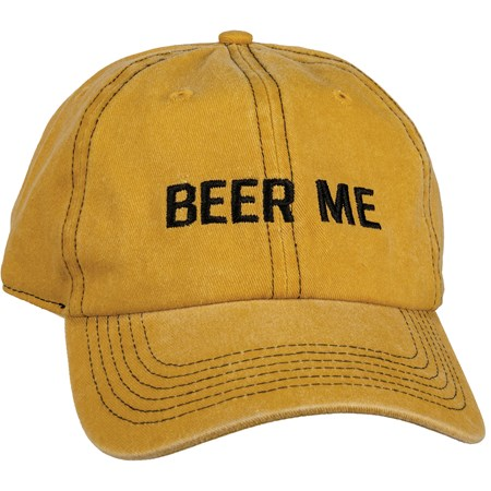 Baseball Cap - Beer Me - One Size Fits Most - Cotton, Metal