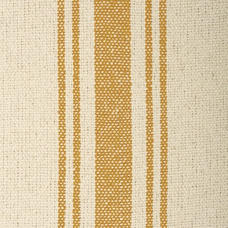 "Fabric - Cream, 5 Gold Stripes - 54"" x 1 Yard - Cotton"