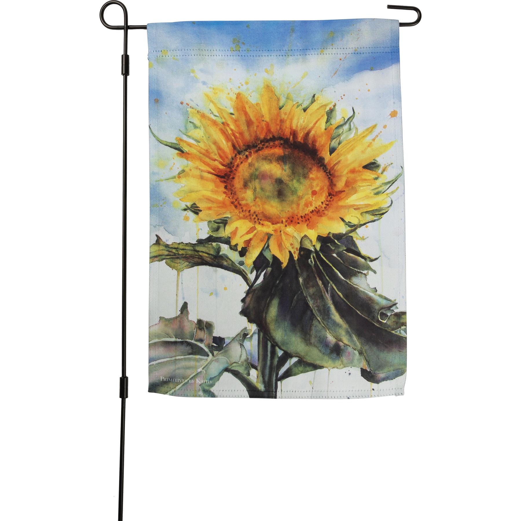 Garden Flag Sunflower Garden Collection Primitives By Kathy