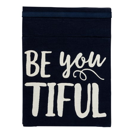 "Travel Mirror - Be You Tiful - 6.125"" x 8"" - Cotton, Mirror"