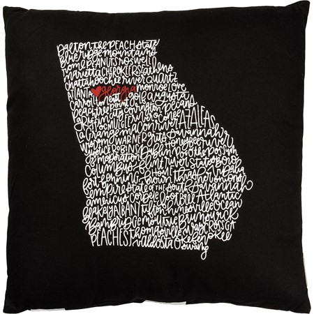 "Pillow - Georgia - 18"" x 18"" - Cotton"