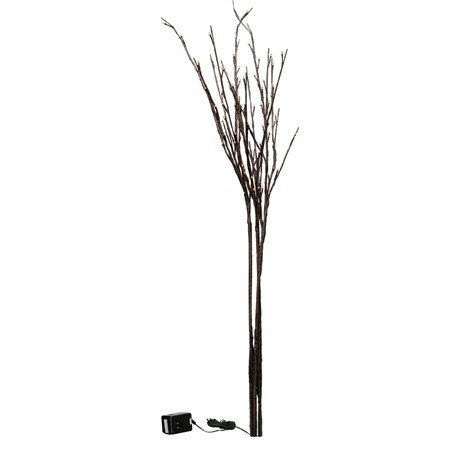 "Willow Twig - 96L Large - 39"" Tall, 96 Lights, 16' Cord, 3 Stems - Wire, Plastic, Cord"