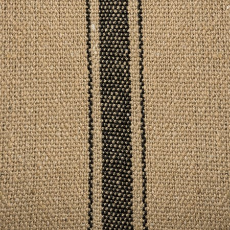 "Fabric - Dark, 3 Black Stripes - 54"" x 1 Yard - Cotton, Polyester"
