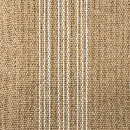 "Fabric - Dark, 5 Cream Stripes - 54"" x 1 Yard - Cotton, Polyester"
