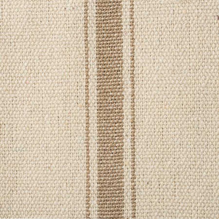 "Fabric - Cream, 5 Dark Stripes - 54"" x 1 Yard - Cotton, Polyester"
