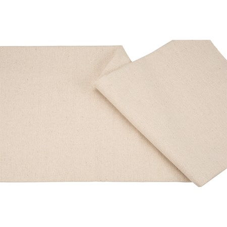 "Fabric - Cream - 54"" x 1 Yard - Cotton, Polyester"