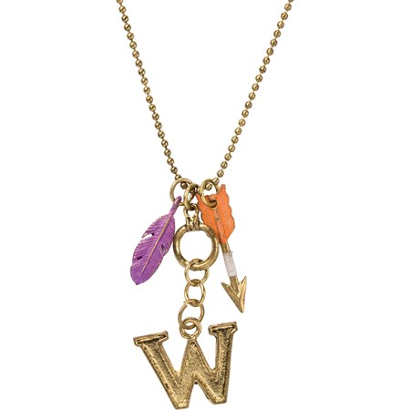 "Necklace - W - 30"" Chain - Metal"