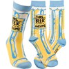 Socks - This Beer Is  Making Me Awesome - One Size Fits Most - Cotton, Nylon, Spandex