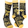 Socks - I Teach What's Your Super Power - One Size Fits Most - Cotton, Nylon, Spandex