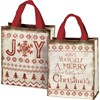 "Daily Tote - Joy - 8.75"" x 10.25"" x 4.75"" - Post-Consumer Material, Nylon"