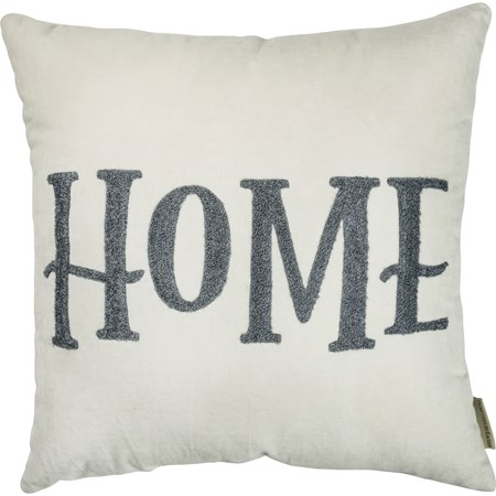 "Pillow - Home - 18"" x 18"" - Velvet"