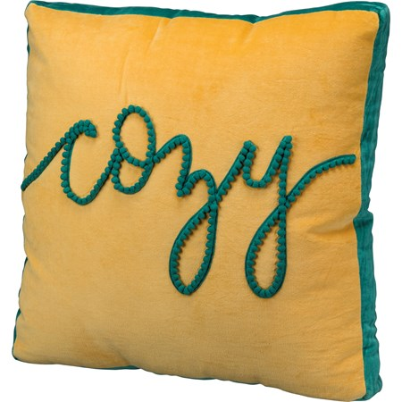 "Pillow - Cozy - 18"" x 18"" - Velvet"